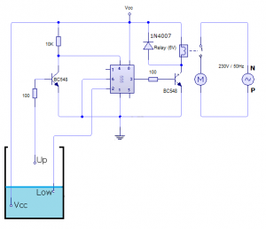 Automatic Water Tank Controller Engineering Project