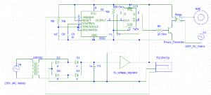 रिमोट संचालित बल्ब प्रोजेक्ट का सर्किट डायग्राम